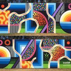 Private Villa Bali, Wall Paintings, Vic Australia, Life Form, Abstract Landscape, Art School, Closer, Quilt, Colours