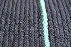 Videoanleitung: Fischgräte stricken lernen, learn how to knit the herringbone