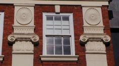 Georgian facade in Coventry.