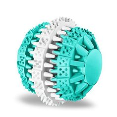 Tough Chew Ball for Dogs, ATESSON Rotatable Tooth Cleanin...