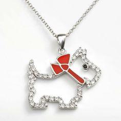 Silver Scottish Terrier Pendant Charm Satin Disc Scotti