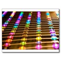 LED Abstraction Postcards #TexasEagleGallery #zazzle #LED #art