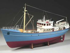 FREEPOST UK MAINLAND ONLY Billing Boats Nordkap Model Ship Kit A typical trawler from the North Sea, built in 1970 at an English shipyard. This Billing Boats model kit is based on the original ship drawings. Wooden Model Boats, Wood Boats, Make A Boat, Build Your Own Boat, Plywood Boat Plans, Wooden Boat Plans, Scale Model Ships, Scale Models, Bateau Rc