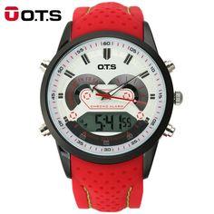 OTS Men's Quartz Digital Sports Watch