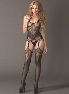 dff2d9ecdb All Yours Sexy Suspender Bodystocking