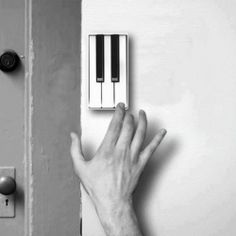 Replace Your Boring Doorbell with the Pianobell.