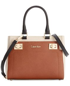 Calvin Klein Ashley Saffiano Crossbody