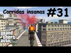 GTA V - Corridas insanas - Manobras e Crânios Rachados #31