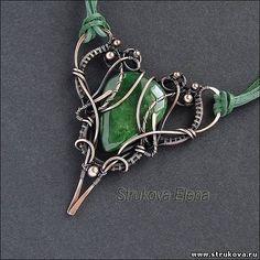 Strukova Elena - авторские украшения - друидский кулон :)