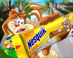 """This is """"NESQUIK - STICK"""" by Green Movie on Vimeo, the home for high quality videos and the people who love them. Green Movie, Nestle Chocolate, Kids Packaging, Bad Room Ideas, Brand Icon, Nescafe, Logo Branding, Tube, Bunny"""
