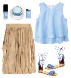 """""""Untitled #3559"""" by im-karla-with-a-k on Polyvore featuring Tamara Mellon, Steve Madden, MANGO, rms beauty, JINsoon and Dolce&Gabbana"""
