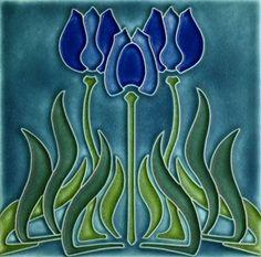 Tulips  Motawi Tile
