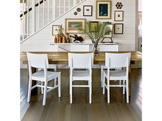 Rustic modern dining room - Home and Garden Design Idea's