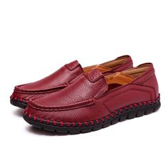Women Casual Leather Shoes Soft Outdoor Slip On Flat Loafers Shoes  Worldwide delivery. Original best quality product for 70% of it's real price. Hurry up, buying it is extra profitable, because we have good production sources. 1 day products dispatch from warehouse. Fast & reliable...