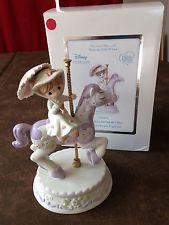 """Mary Poppins """"It's a Most Delightful Day"""" Precious Moments Figurine Carousel"""