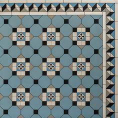 Pattern - Glasgow Diagonal Continuous Design & Bristol Border