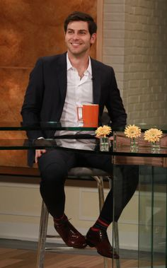 The handsome David Giuntoli on Access Hollywood Live on March 4, 2013.
