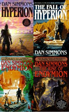 The Hyperion Cantos by Dan Simmons. A pilgrimage to the realm of the Shrike, a part-god/part-killing machine, provides the travelers the forum to tell their incredible stories.