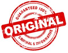 What is the meaning of original content for bloggers?