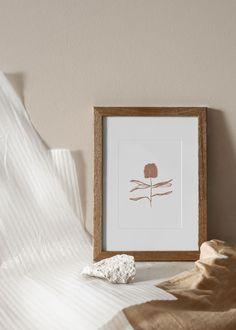 hygge neutral home decor Rose Gold Wallpaper, Black Background Wallpaper, Plant Wallpaper, Linear Art, Photo Frame Design, Plant Art, Plant Illustration, Home Decor Wall Art, Minimalist Art
