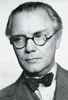 G. Asplund retrato del Arquitecto.