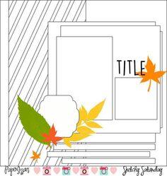 Sketch it out Thursday:(Nov 10) Sara Scraps – The Crafty Maven Getaway