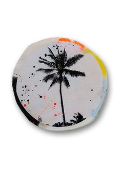 Ahoy! Porthole - Palm Tree