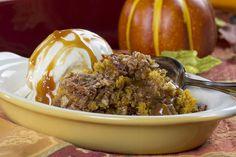 Pumpkin Pecan Cobbler | MrFood.com