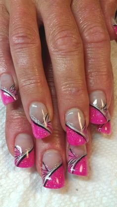 Acrylic nails by Angie