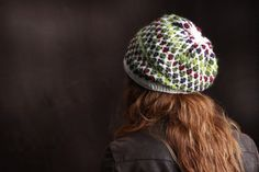 Beautiful slouchy beanie with never-ending color options. Bavarian Crochet pattern perfect for fall fashion
