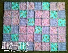 Rag quilt, I have made 12 of these. They are super easy and look awesome when finished.