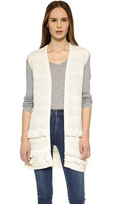 "Product review for Vince Women's Fringe Sweater Vest.  A long, casual Vince vest, detailed with cable stripes and tiers of soft fringe. Banded edges. Open placket.   	 		 			 				 					Famous Words of Inspiration...""Goals are the fuel in the furnace of achievement.""					 				 				 					Brian Tracy 						— Click here for more from..."