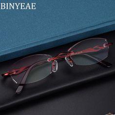 cc6b5a8c498 BINYEAE Fashion titanium frameless reading glasses Red Diamond Reading  Glasses +1.0 +1.5 +2.0 +2.5 +3.0 +3.5 +4.0. Yesterday s price  US  14.84  (13.11 EUR).