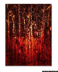Blood Artist Takes Over Religious Art Museum Damian Ortega, Rashid Johnson, Tara Donovan, Ugo Rondinone, Claes Oldenburg, Blood Art, 7 Deadly Sins, Religious Art, Contemporary Artists