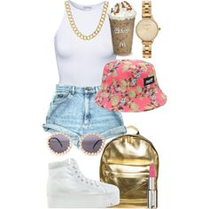 ❤️❤️❤️, created by kgoldchains on Polyvore