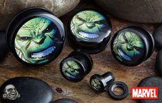 Acrylic Hulk Plug from BodyArtForms.com