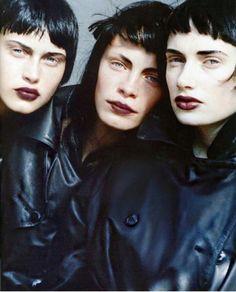 Vogue Italia, 1997.  Ph: Peter Lindbergh