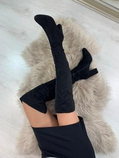 Poze Cizme Alexis Negre #B3652 Knee Boots, Shoes, Fashion, Moda, Shoe, Shoes Outlet, Fashion Styles, Knee High Boots, Fashion Illustrations