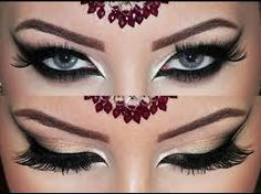 maquiagem arabe - Pesquisa Google