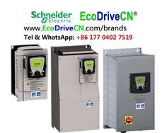 Schneider industrial AC variable frequency drives, VFDs, frekvenčni pretvornik, frekvencoregulilo, variador de frecuencia, inversores de frequencia. www.EcoDriveCN.com/brands/