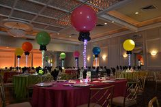Neon Themed Bat Mitzvah - BAT MITZVAHS