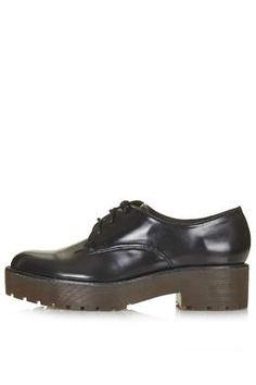 KOLE Heavy Lace Up Shoes - Topshop