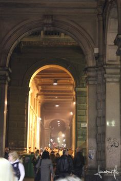 Bologna - The arcade