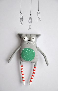 little cat by MarLitoys on Etsy