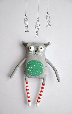 little cat von MarLitoys auf Etsy