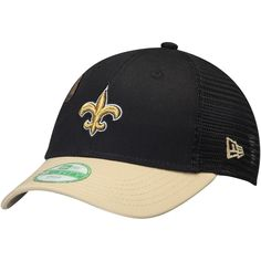 cheap for discount 9ea54 4c4ec Preschool New Orleans Saints New Era Black Mascot Mixer 9FORTY Adjustable  Hat, Your Price