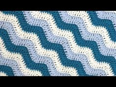 excellent vid tutorial on how to work the Rugged Ripples Blanket (by verypink.com). Especially good if you've just learnt how to crochet.