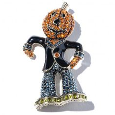 """""""JACK OF ALL TRADES AND MASTER OF NONE"""" CRYSTAL PIN 