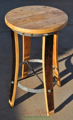 WINE BARREL BARTOLI STOOL
