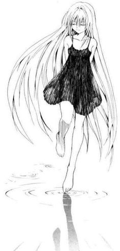 Eve from Black Cat Black Cat Manga, Mikaela Hyakuya, Cat Comics, Cat Drawing, Drawing Ideas, Anime Sketch, Cute Images, Cute Illustration, Manga Girl